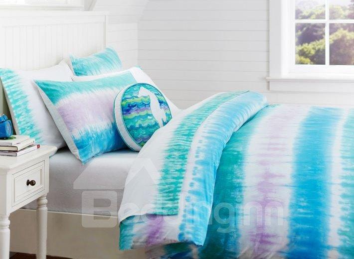 Dazzle Light Print 3-Piece Cotton Duvet Cover Sets
