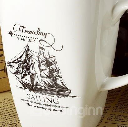 Fantastic the Age of Sail Bone China Coffee Mug