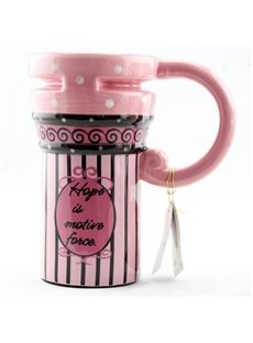 Pretty Pink Bubbles Ceramic Coffee Mug