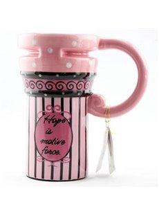 Pretty Pink Bubbles Ceramic Coffee Mug
