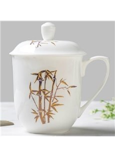 Wonderful Chinese Traditional Bamboo Bone China Tea Cup
