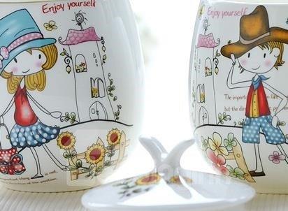 Wonderful 1-Couple of Ceramic Coffee Mug for Lovers