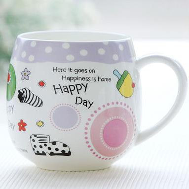 Wonderful Pretty Bone China Coffee Mug