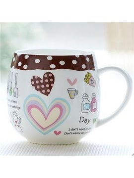 Cheap Coffee Bone China Coffee Mug for Girls