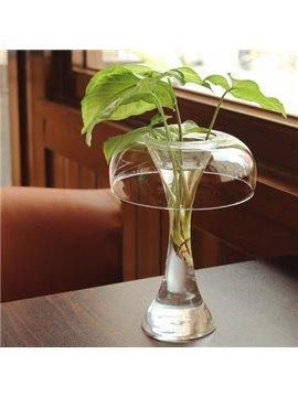 Classic Simple Modern Glass Vase for Desktop Decoration