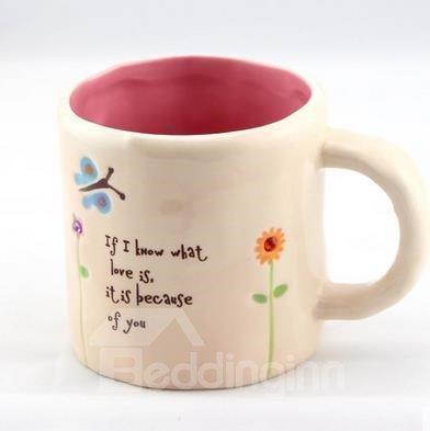 Wonderful Vanilla Yellow Small Size Coffee Mug