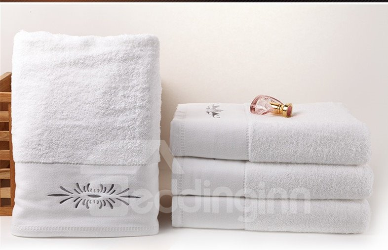 5-Star Hotel Pure Cotton White Large Size Bath Towel