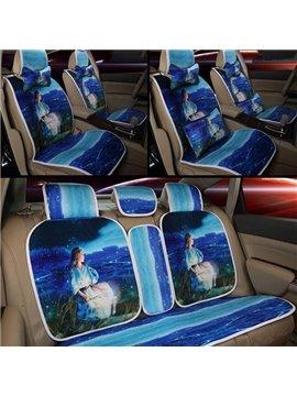 Constellation Series--Intelligent Virgo Printing Car Seat Covers