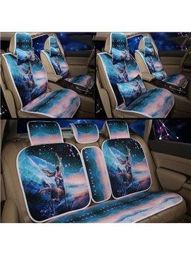 Constellation Series--Handsome Sagittarius Printing Car Seat Covers