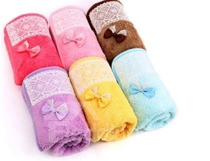 Long Wool Thicken  Water Absorption Hair-Drying Towel