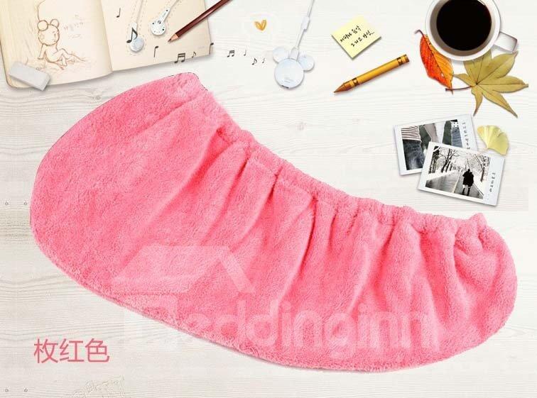 Coral Fleece Wipe The Hair Quick-Drying Towel Cap