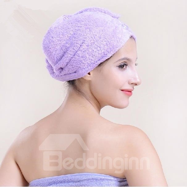 Three Times Water Absorption 1 Minute Dry Hair Towel
