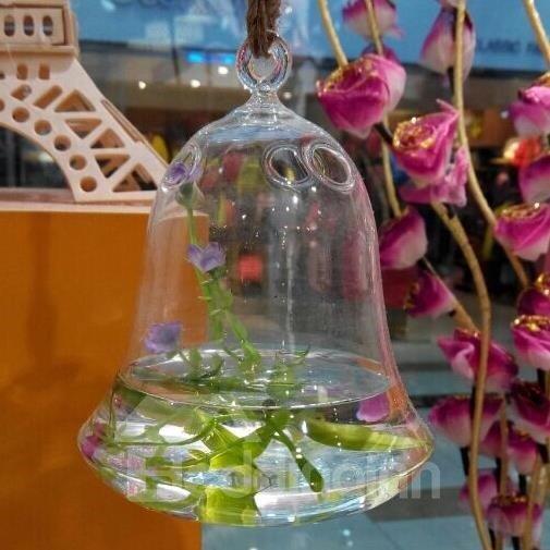 Fantastic Creative Bell Shape Glass Vase