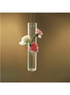 Top Selling Creative Cylindrical Glass Flower Vase