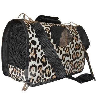 Amazing Snow Leopard Decorative Pattern Portable Dog Carriers
