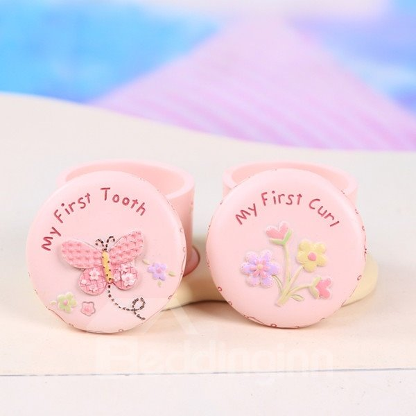 Baby Princess First Tooth and Curl Treasure Box Set