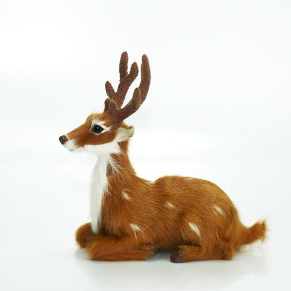 Simulating Lovely Deer Creative Car Decor