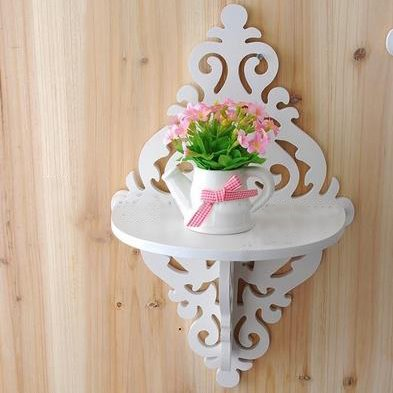 Cheap Wonderful Wood Plastic Plate 1-Piece Wall Shelves