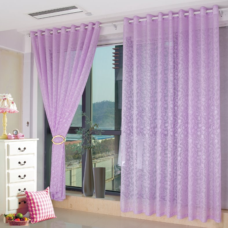 Purple Curtains For Bedroom Living Room Romantic Purple Living Room Bedroom Custom Sheer Curtain Beddinginn