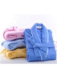 Water Absorption Purified Cotton Children Towel Bathrobe