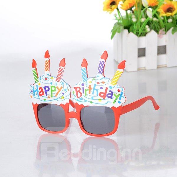 Creative Sunglasses Kids Birthday Celebration Decoration