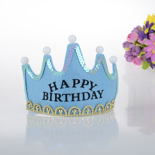 Wonderful Shining Baby Birthday Hat Decoration