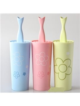 Fashion Cute Creative Suite Toilet Brush Holder