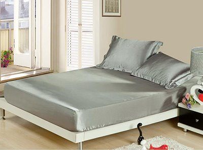 Comfortable and Skin Care Silky Fitted Sheet