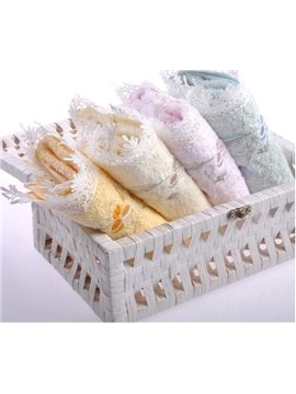 Purified Cotton Lace  Soft Comfortable Women's Bath Towel