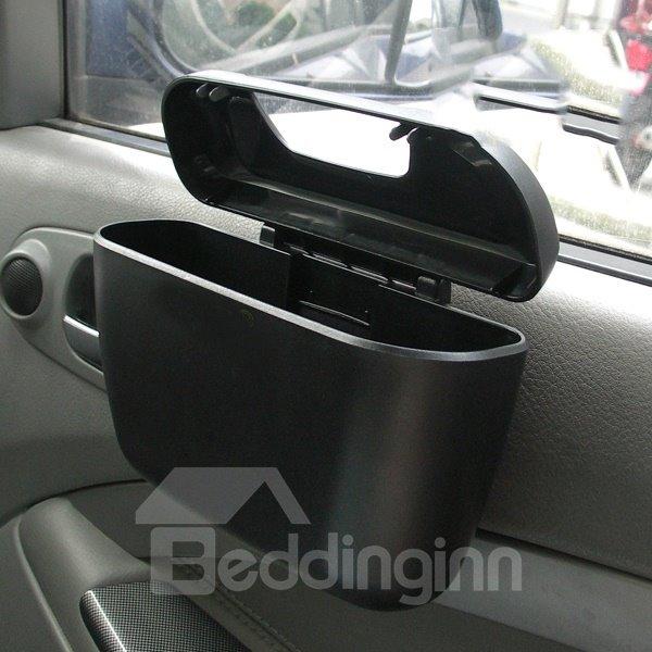car door suspension mini car trash can. Black Bedroom Furniture Sets. Home Design Ideas