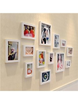 Simple Elegant Pretty Wall Photo Frame Set
