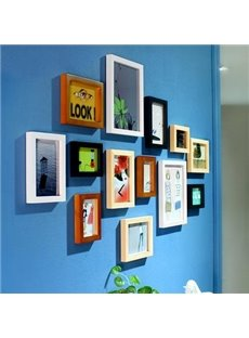 Amazing Popular Wood Wall Photo Frame Set