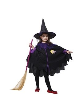Witch Cloak Style Lovely Girls' Costume