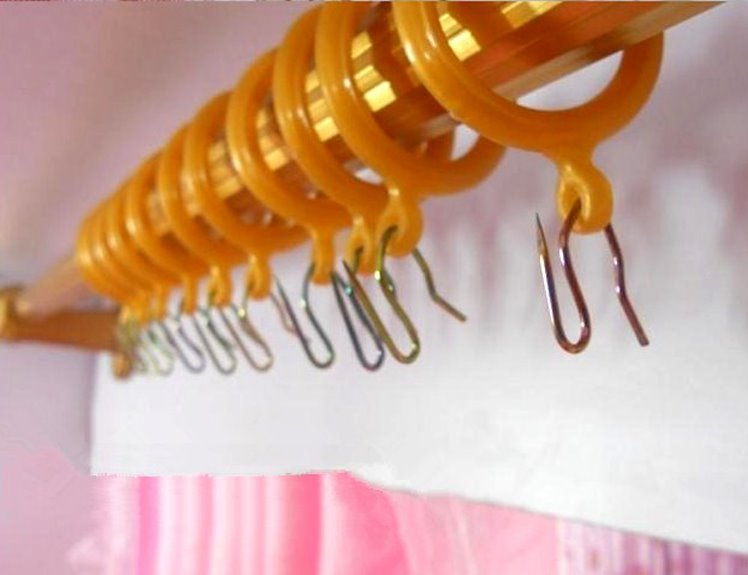 Zinc Plating Heavy Duty Curtain Pin Hooks