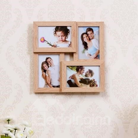 Modern Creative Combination 4-Piece Wall Photo Frame Set