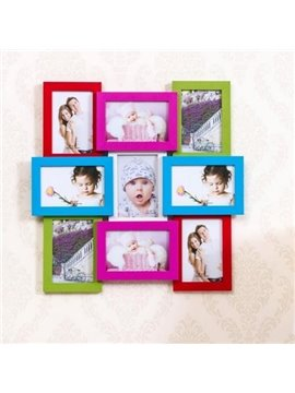 Modern Creative 9-Piece Wall Photo Frame Set