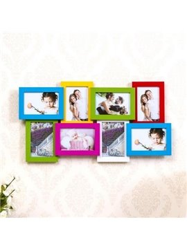 Modern Popular 8-Piece Wall Photo Frame Set