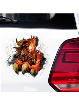 The Creative Solid 3D Fierce Dinosaur Car Stickers