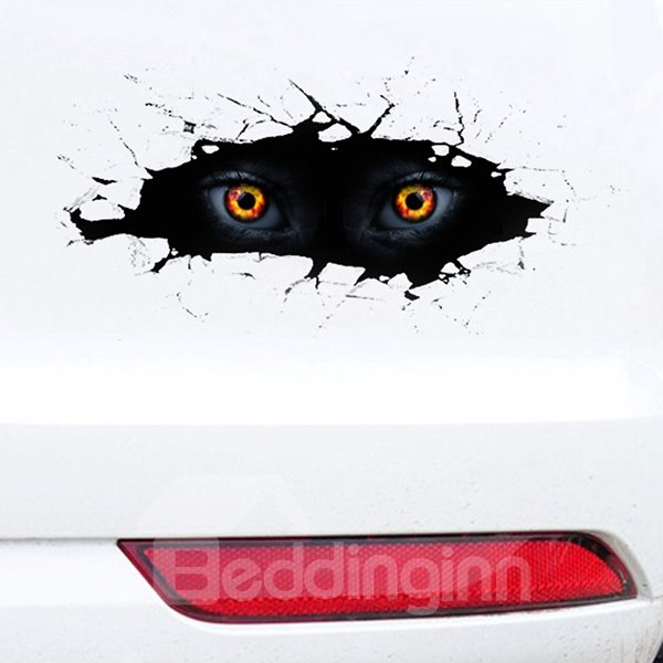 Magic 3D Fire Eyes Most Popular Creative Car Sticeker