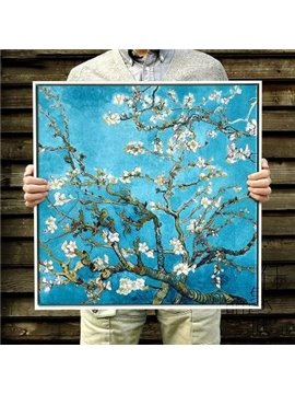 Classic Apricot Flower Van Gogh Print for Decoration