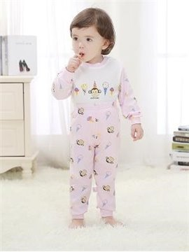 Long Sleeve Purified Cotton Suit Kids Pajamas