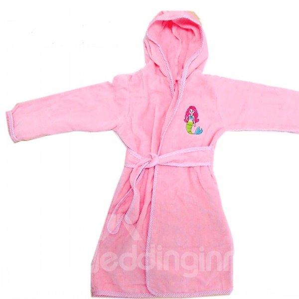 100% Cotton Material Cut Pile towel Kids Robes