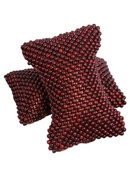 Neck Protect And Massage Camphordwood Beads Single Car Pillow