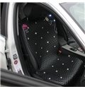 Elegant And Luxurious Rhinestore Inset PU Car Seat Covers