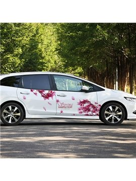 The Romantic Sakura PVC Car Stickers