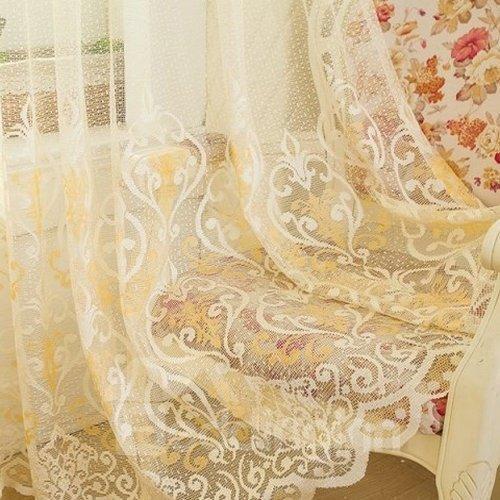 Breathable Soft Decorative Custom Sheer Curtain