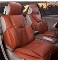 Luxurious And Comfort PU Leather Material Car Seat Covers