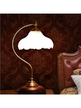 Unique Style Glass and Iron Lamp