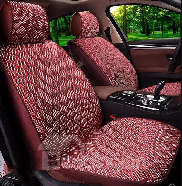 Simple but Elegant Ice Silk Car Seat Covers