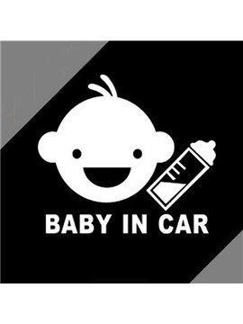 Baby In Car Warning Safety Identification Car Sticker